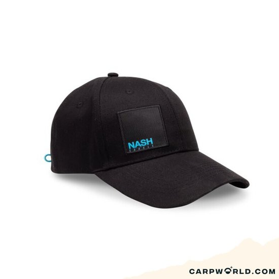 Nash Nash Baseball Cap Black