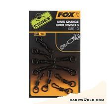Fox Edges Kwik Change Hook Swivels