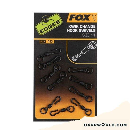 Fox Fox Edges Kwik Change Hook Swivels