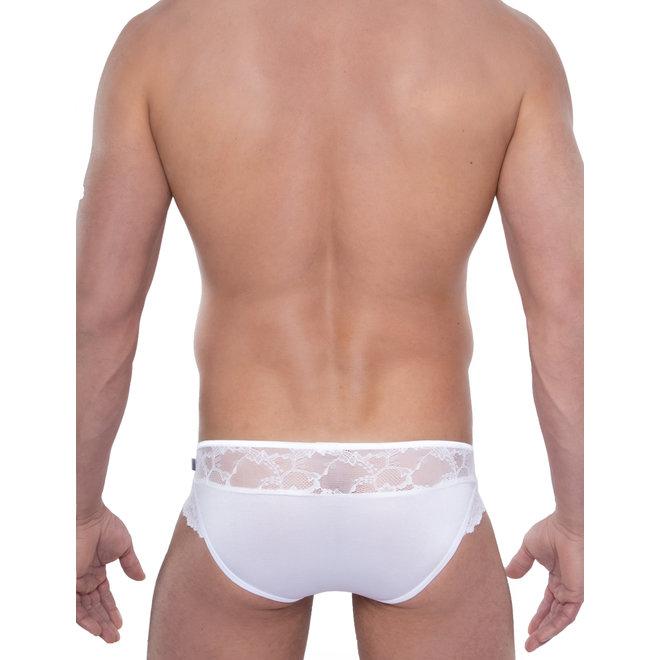 Spitzenjunge Leonardo white lingerie