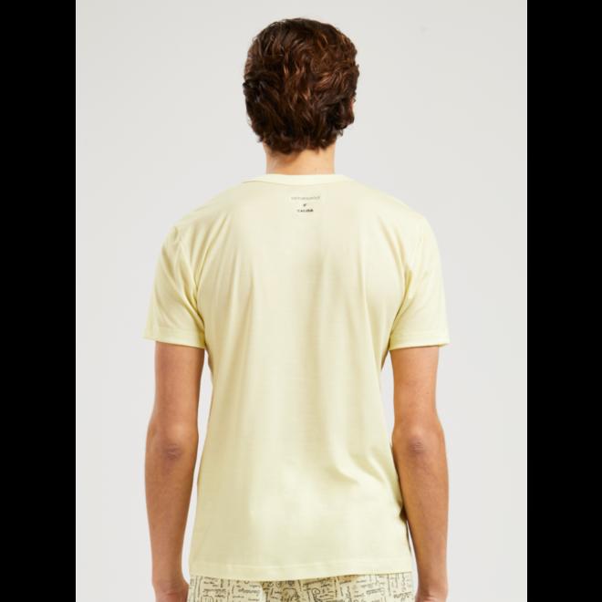 VRC t-shirt wax yellow