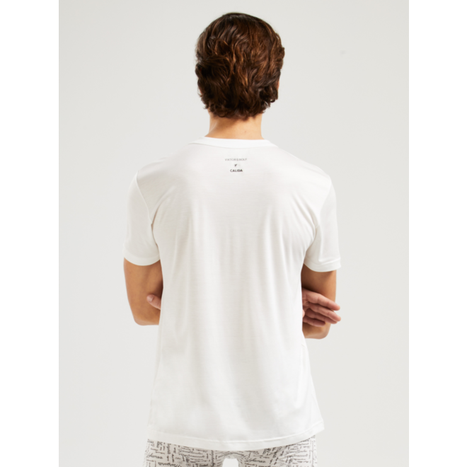 VRC t-shirt star white