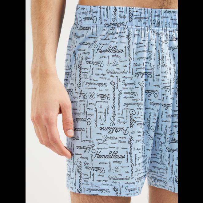 VRC woven short placid blue