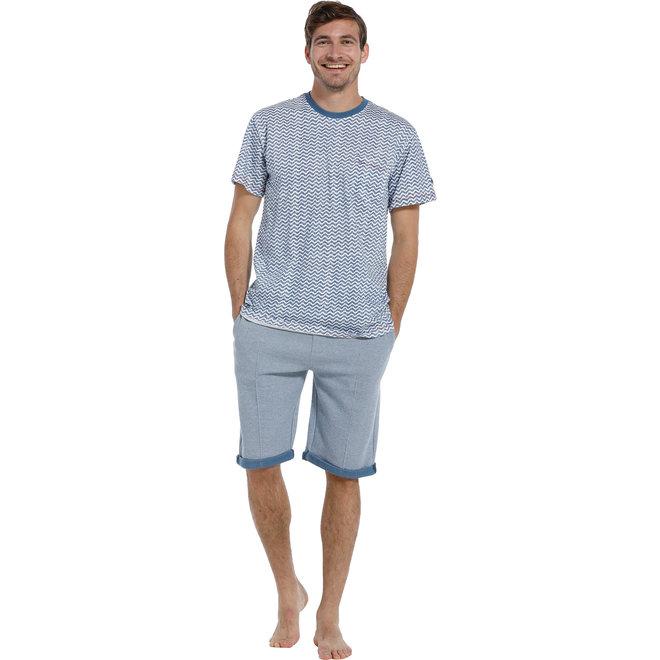 Pastunette lounge t-shirt blue