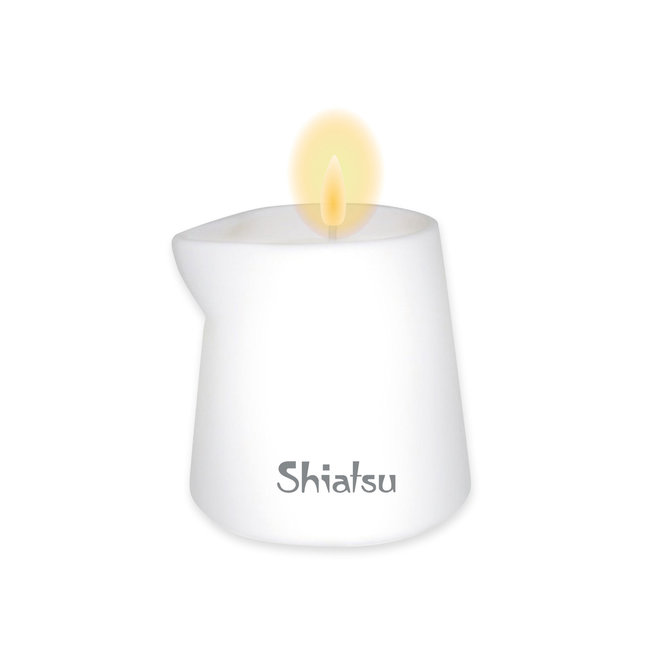 Shiatsu massage candles