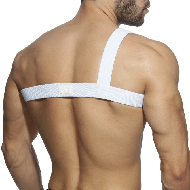 AD gladiator clipped harness white