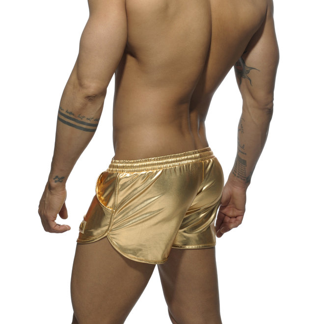 AD metallic short gold