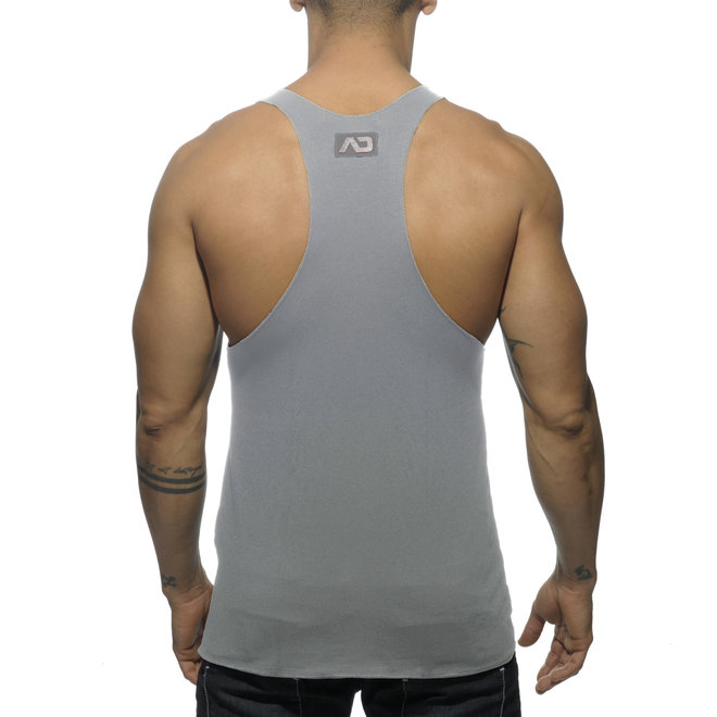 AD tank back printed grey