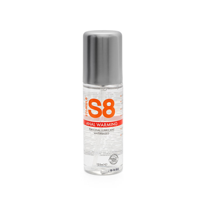 S8 anal warming lube