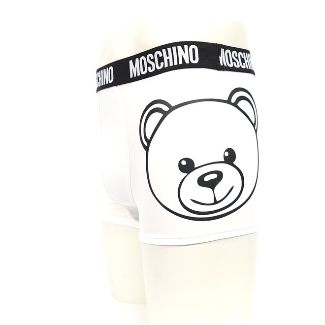 Moschino bear logo black boxer