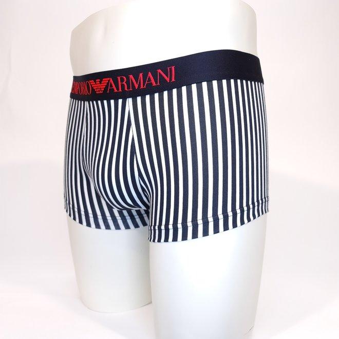 Emporio Armani fluorescent striped boxer