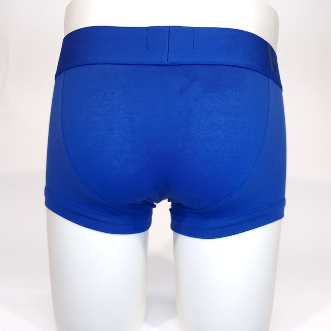Emporio Armani XL logo trunk blue