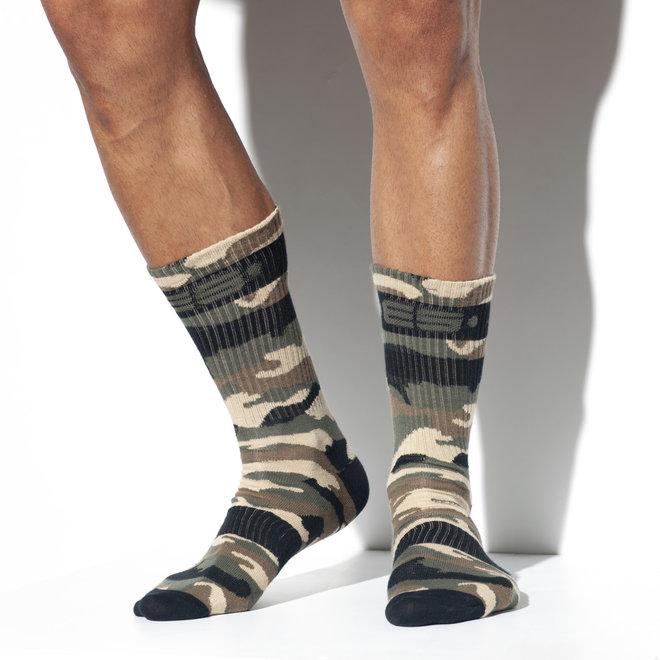 ES camo socks
