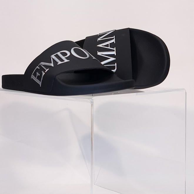 Emporio Armani slippers black