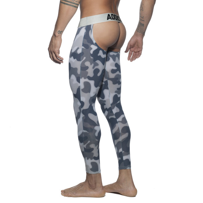 AD bottomless camo long john grey