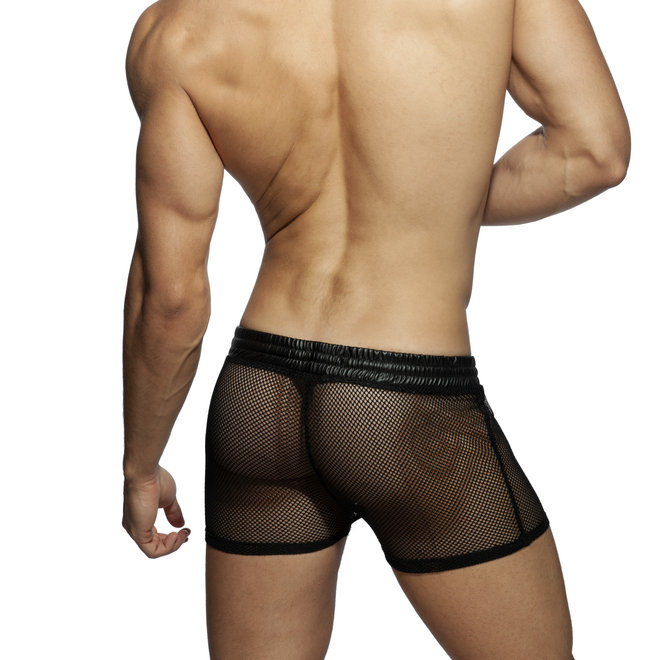 AD see-through kango short black