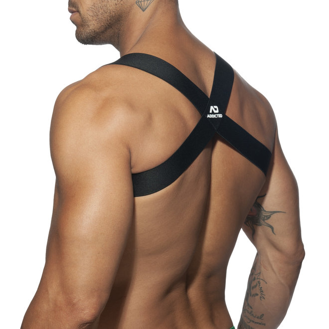 AD spider harness black