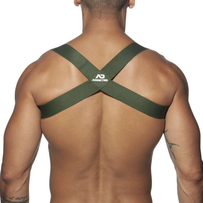 AD spider harness charcoal