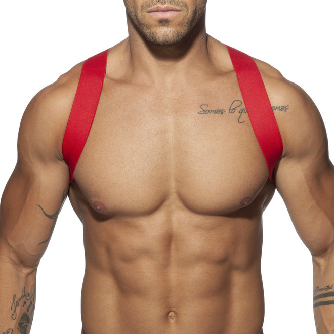 AD spider harness red