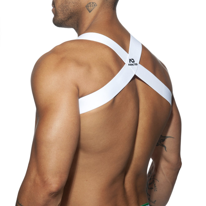 AD spider harness white