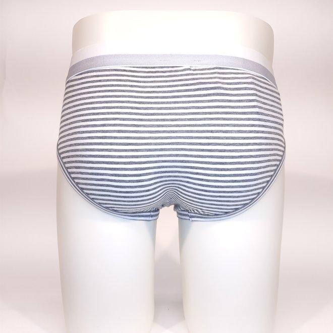 D&G brief striped white/grey