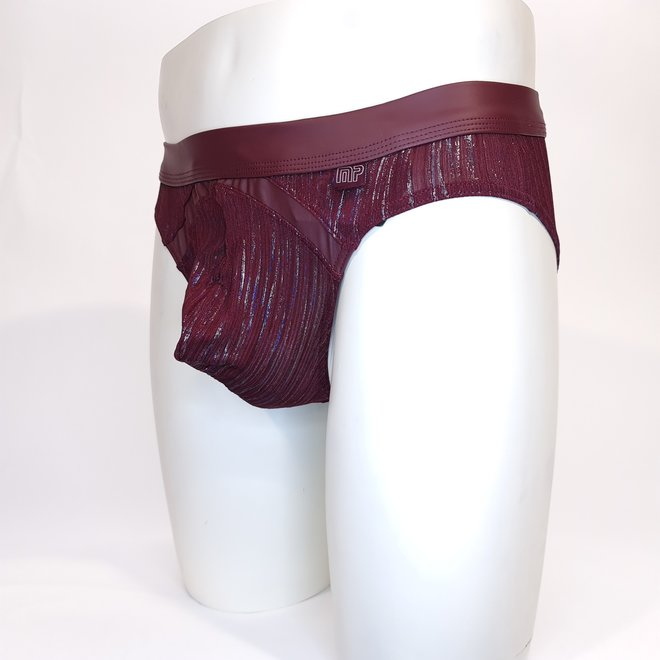 Male power Dazzle bikini burgundy