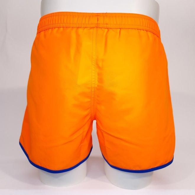 EA7 fluo orange swimshort