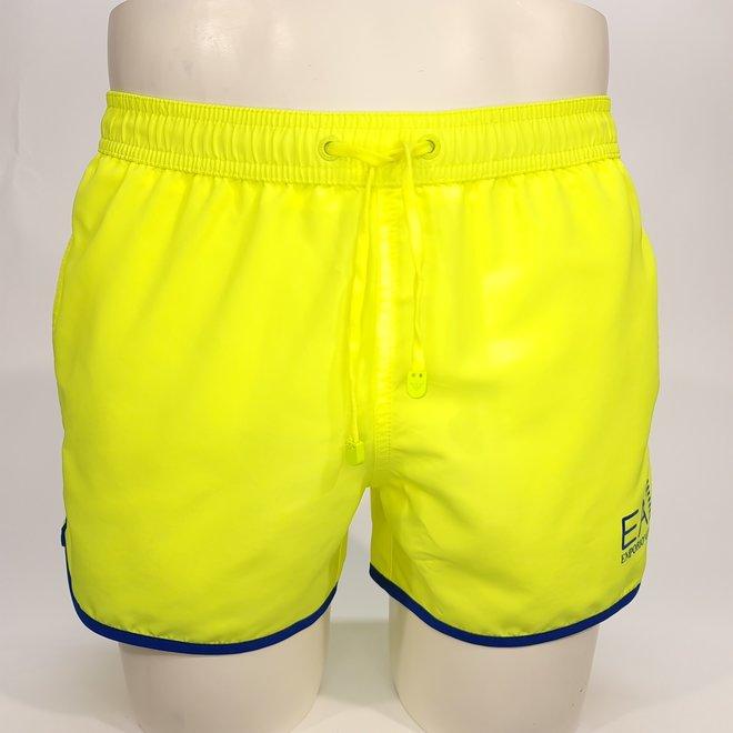 EA7 fluo yellow swimshort
