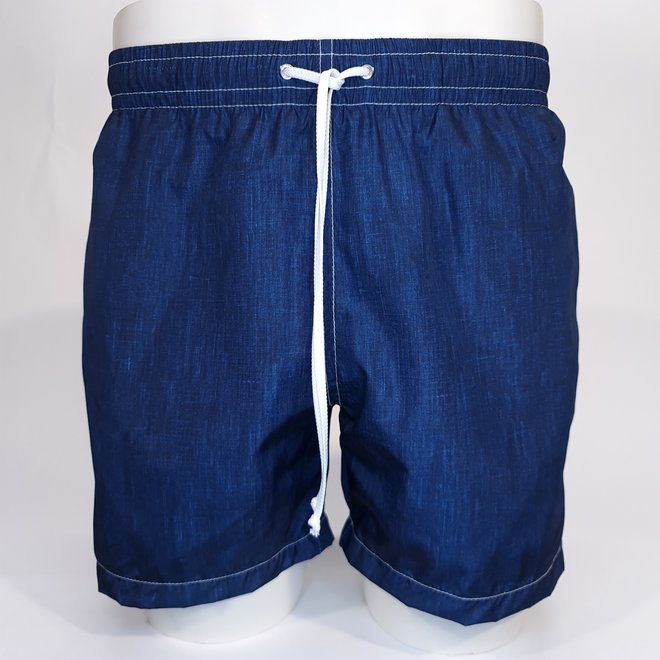 Gianfranco Ferre swimshort denim look