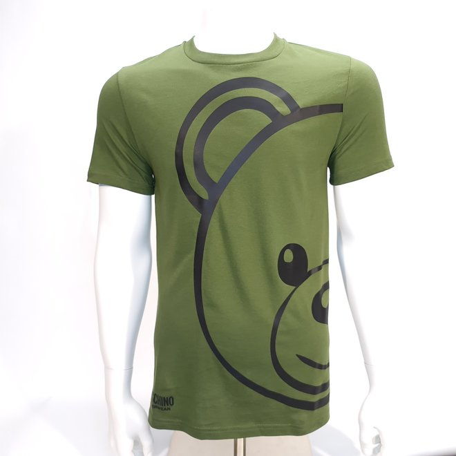 Moschino big bear green t-shirt