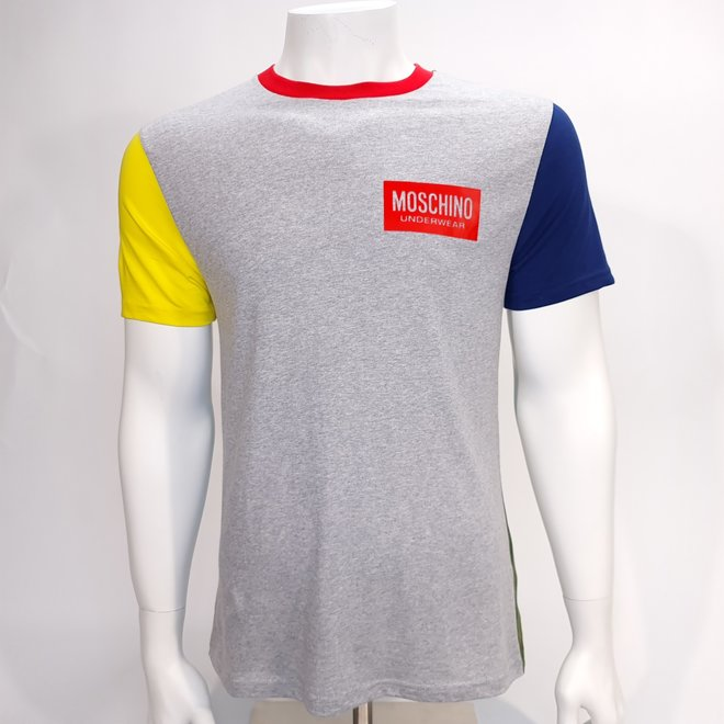 Moschino colourblock t-shirt
