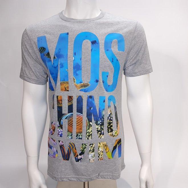 Moschino swim grey t-shirt