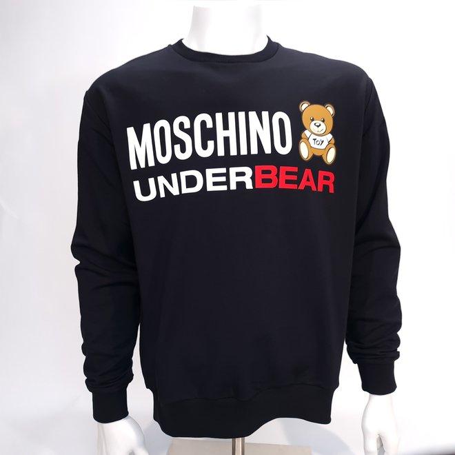 Moschino underbear crew black