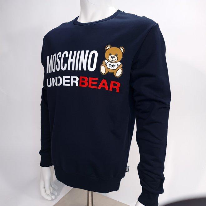 Moschino underbear crew navy