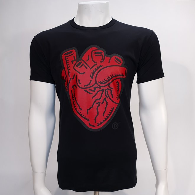 Dsquared heart t-shirt