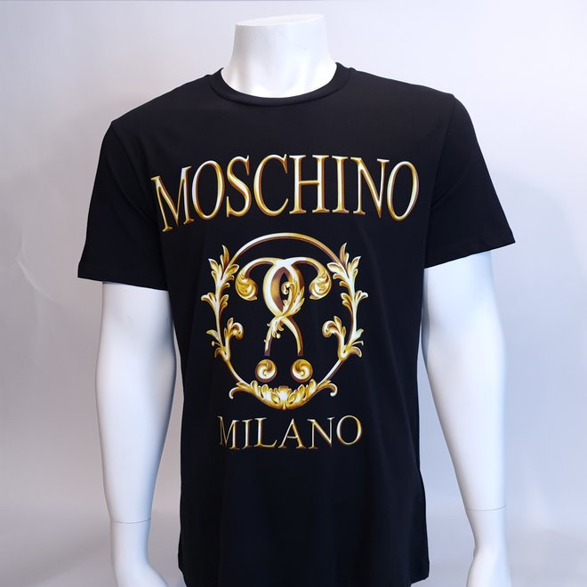 Moschino couture gold t-shirt