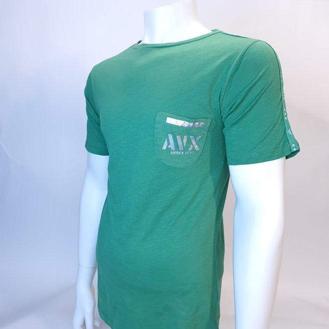 Avirex t-shirt grass