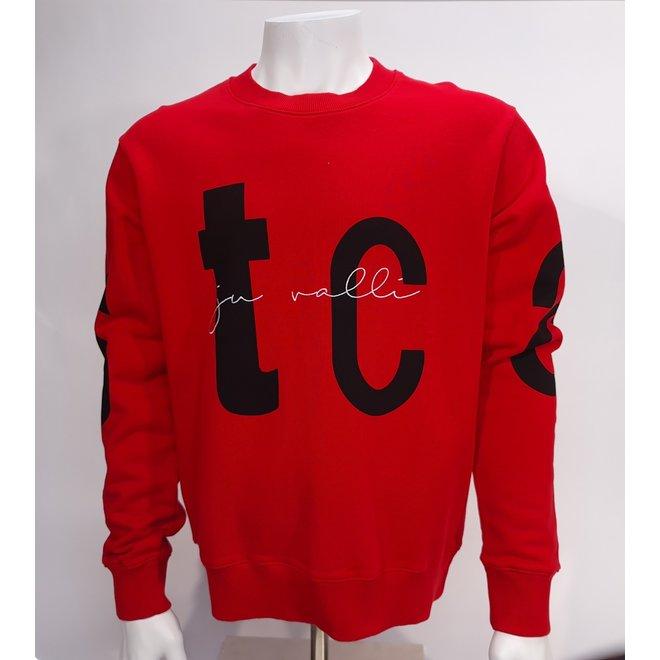 Just Cavalli crewneck red