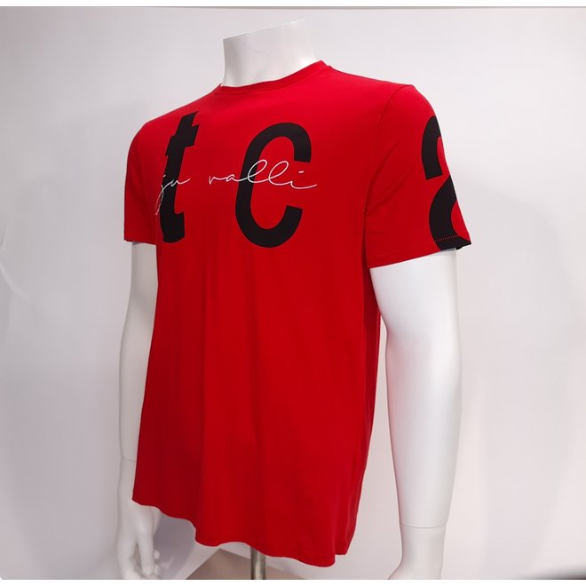 Just Cavalli t-shirt red