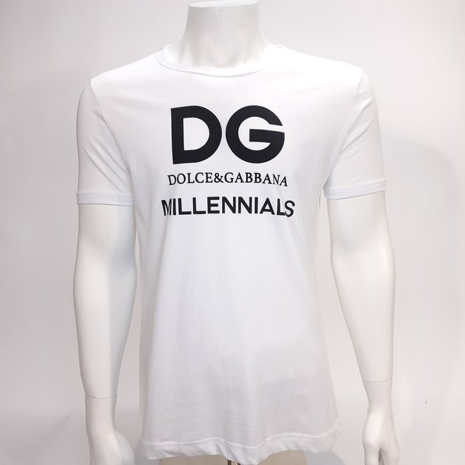 D&G millennials t-shirt white