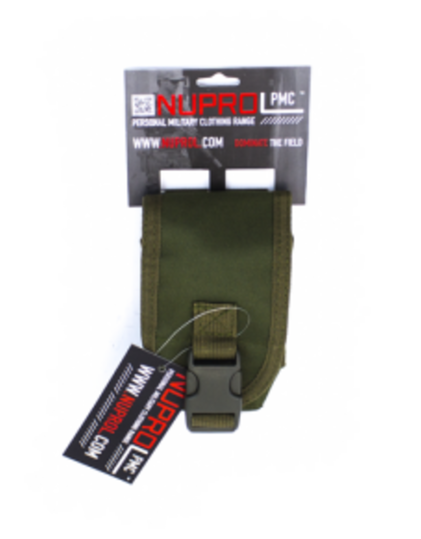 NUPROL NP PMC RADIO POUCH - GREEN