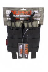 NUPROL NP PMC M4 DOUBLE OPEN MAG POUCH - BLACK