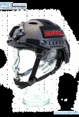 NUPROL NP FAST RAILED HELMET BLACK