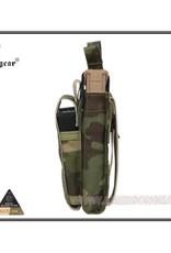 EMERSON EMERSON 5.56&Pistol Double Open Top Magazine Pouch Multicam Tropic