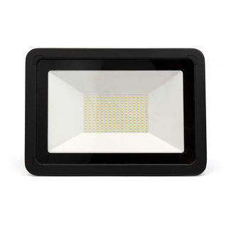 LED Breedstraler 100W | 6000K | zwart