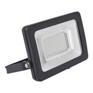 LED Breedstraler 10W | 6000K | zwart
