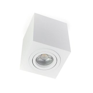 PURPL LED Opbouwspot GU10 | Square | Wit