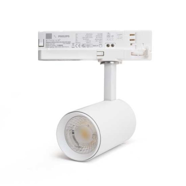 PURPL LED Spot voor 3-fase Rail Verlichting | 15W |  4-aderig | Dual Wit (CCT) | Wit
