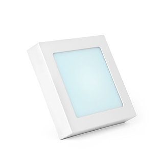 PURPL LED Downlight Square Opbouw 6000K 12W