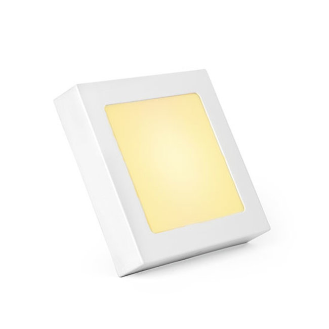 PURPL LED Downlight 12W 3000K dimbaar vierkant opbouw 170 mm